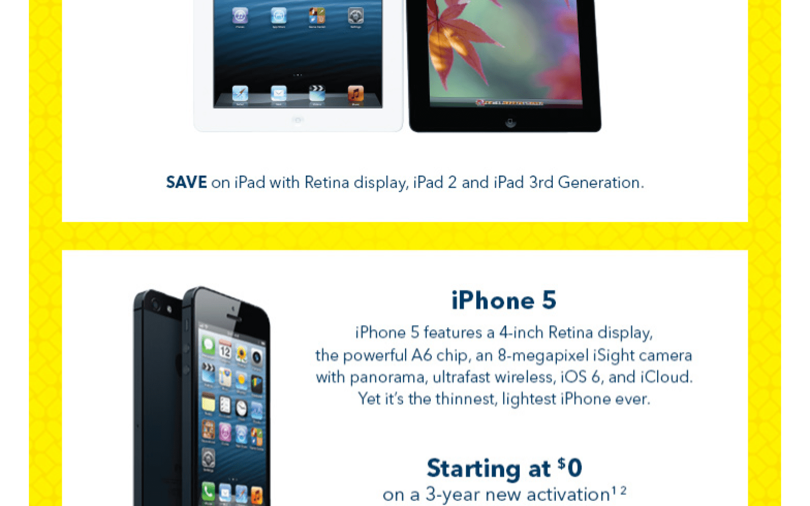 Boxing Day Apple deals: iPhone 5 from $0, deals on iPads ...