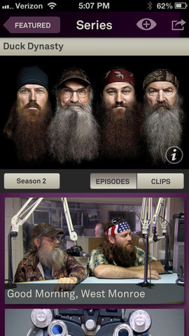 Duck Dynasty-iPhone
