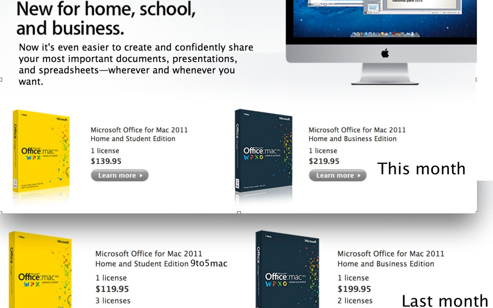 Microsoft raises prices on Microsoft Office for Mac, no one