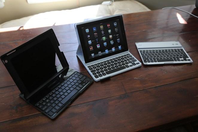 iPad keyboard case review smackdown: Logitech Keyboard Folio vs. Belkin Ultimate Keyboard Case