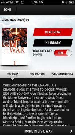 Marvel iPhone 4