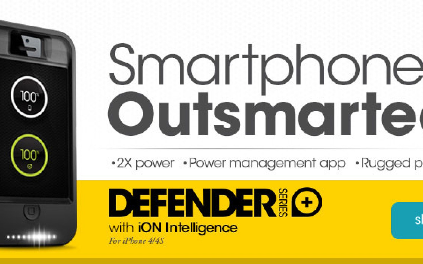 OtterBox releases iPhone Defender Series battery backup case w/ intelligent power management app