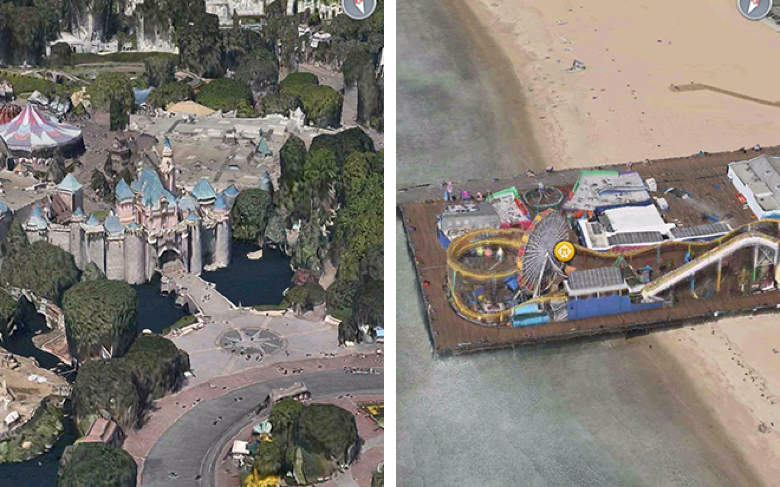 Apple Maps 3D flyover coverage significantly expanded in California
