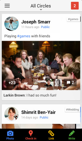 Google+ iOS app updated with Auto Enhance, related hashtags, interactive Google Offers, much more