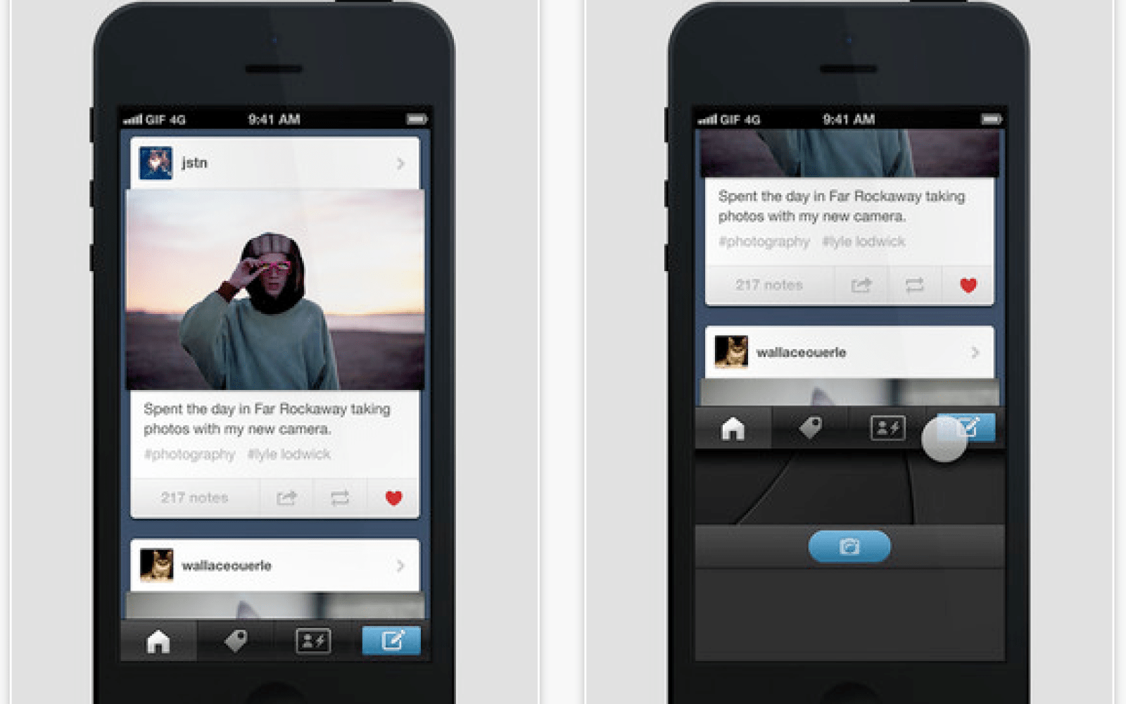 Yahoo's new Tumblr for iOS updated with