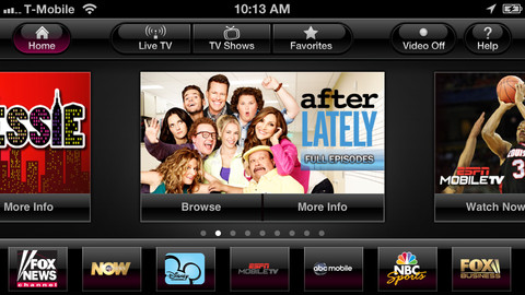 T-Mobile launches subscription based 'T-Mobile TV' app for iPhone