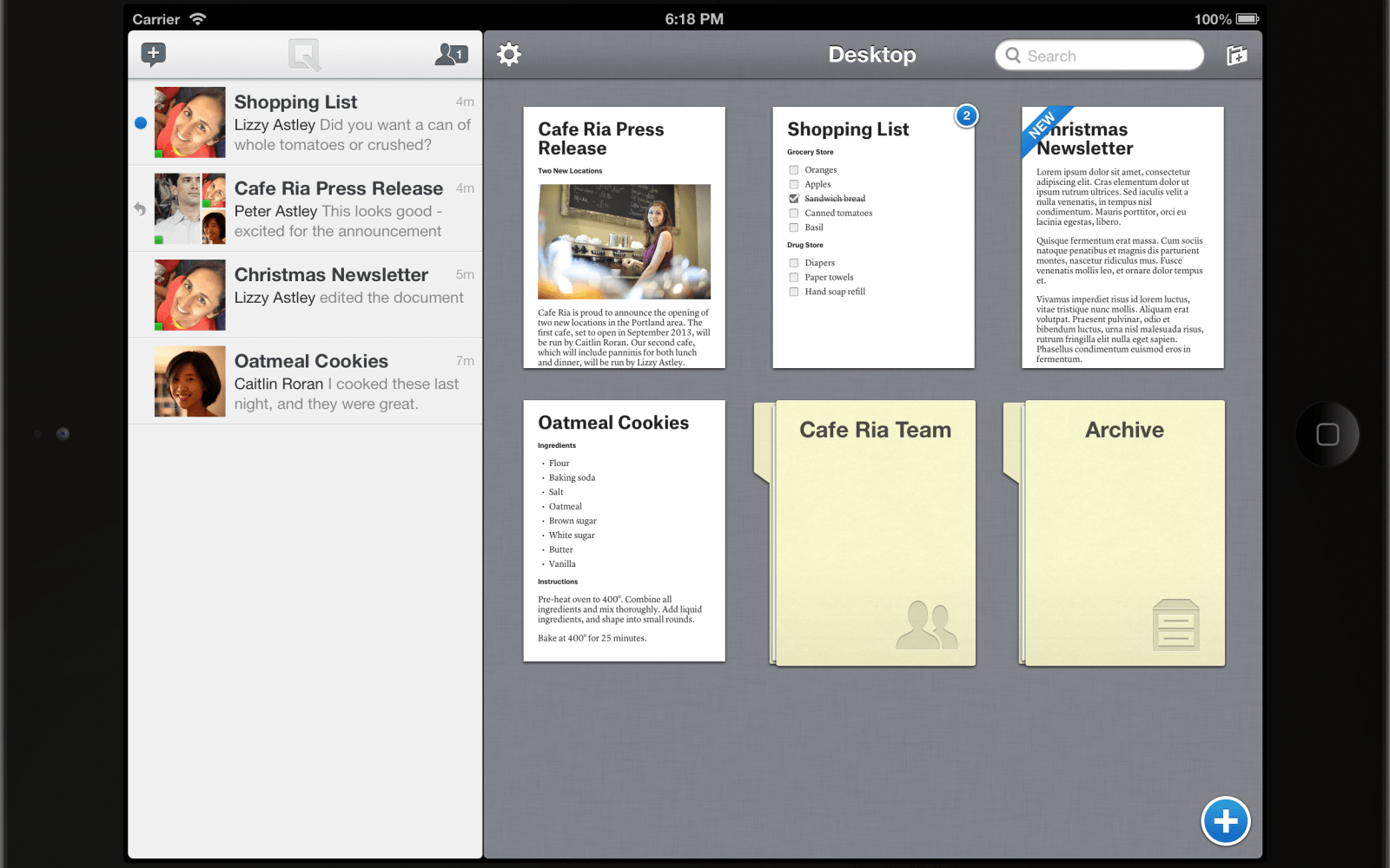 Former Google Maps founder and Facebook CTO launches mobile word processor called Quip