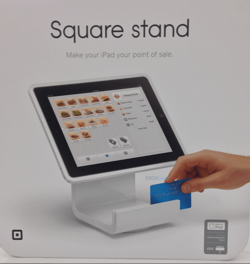 Apple Retail Square Partner To Sell Ipad Based Square