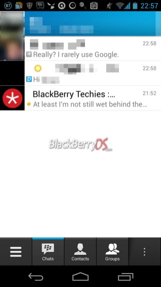 BlackBerry rolling out BBM for iOS and Android beta invites