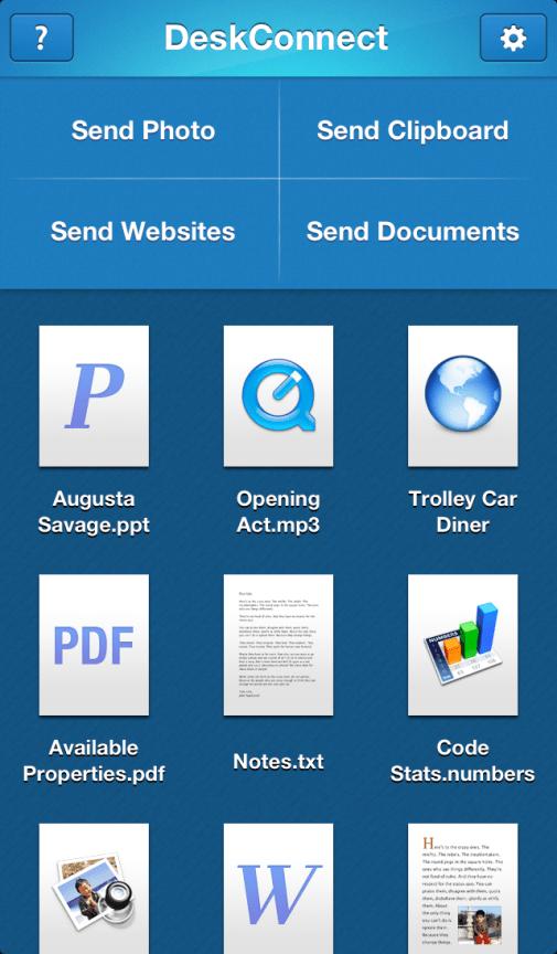 DeskConnect-iOS-MainScreen