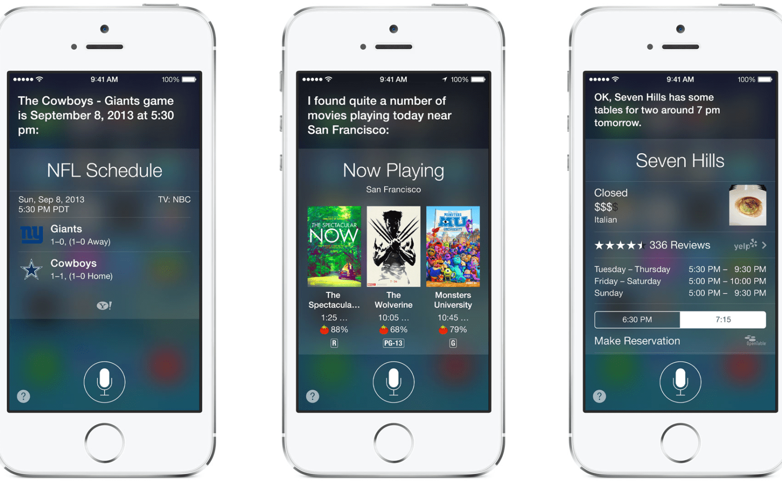 Nearly two years after launch, Siri seems to exit 'beta' with iOS 7