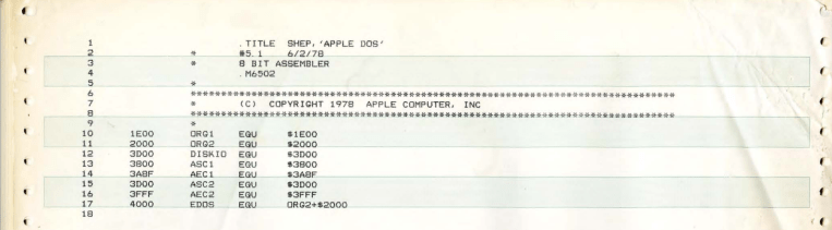 Apple-II-DOS