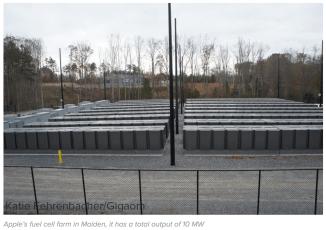 Apple-NC-Fuel-Cell-Farm