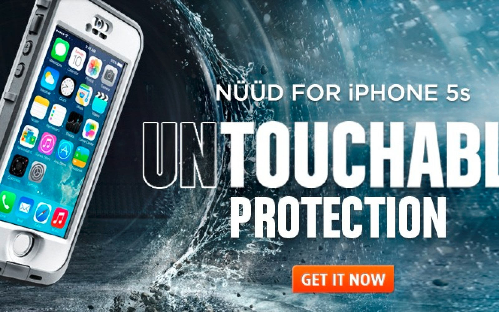 LifeProof announces waterproof, Touch-ID compatible nüüd and frē case