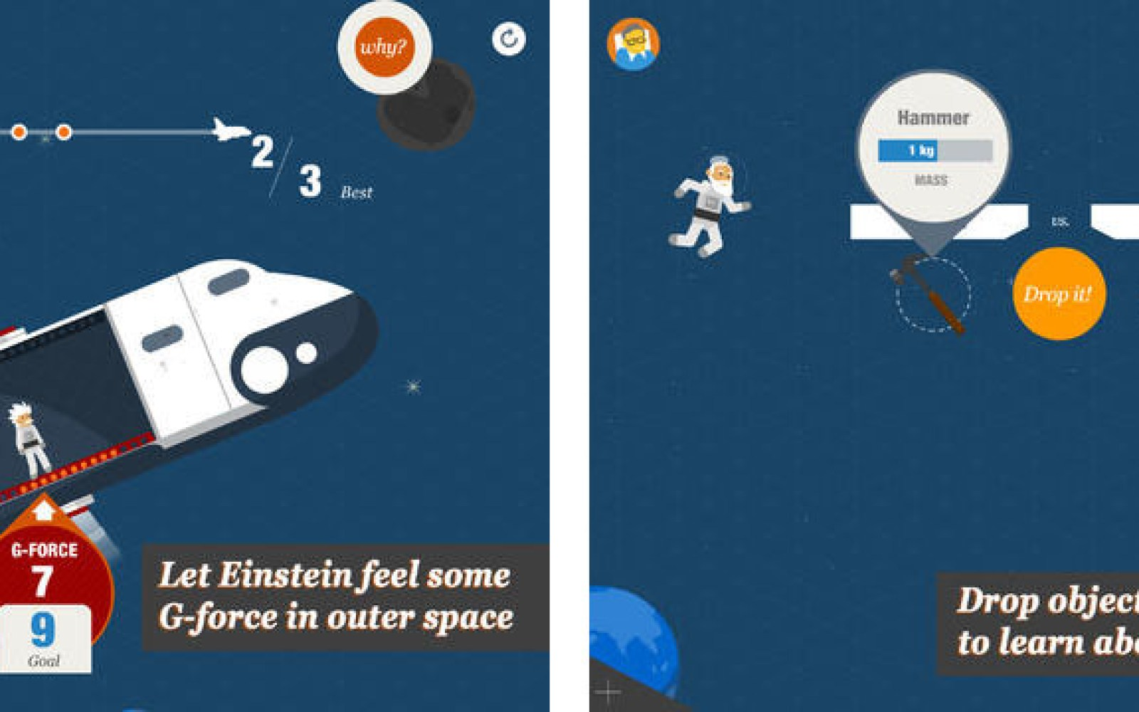 Stephen Hawking iPad app provides a fun way to teach kids about physics