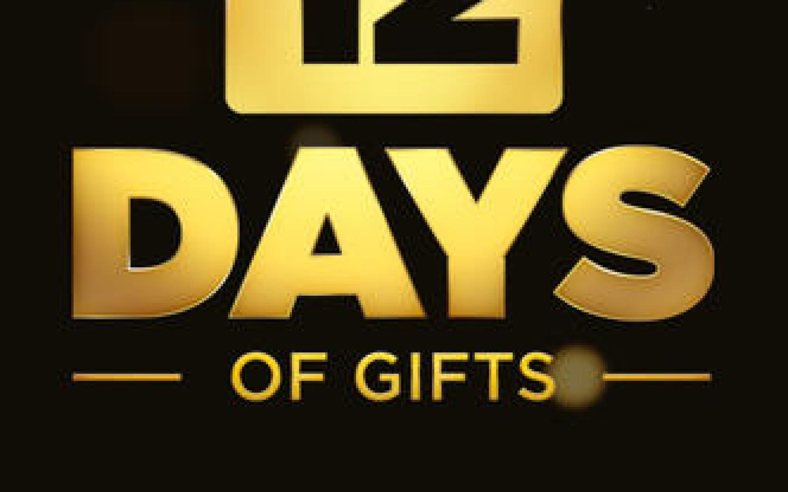"Apple launches 2013 ""12 Days of Gifts"" app on iTunes, available in U.S. for the first time"