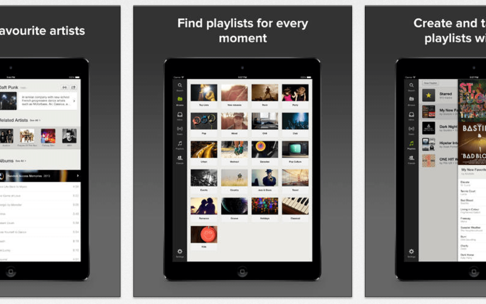 Spotify for iOS updated w/ previously announced free option for mobile and tablet users