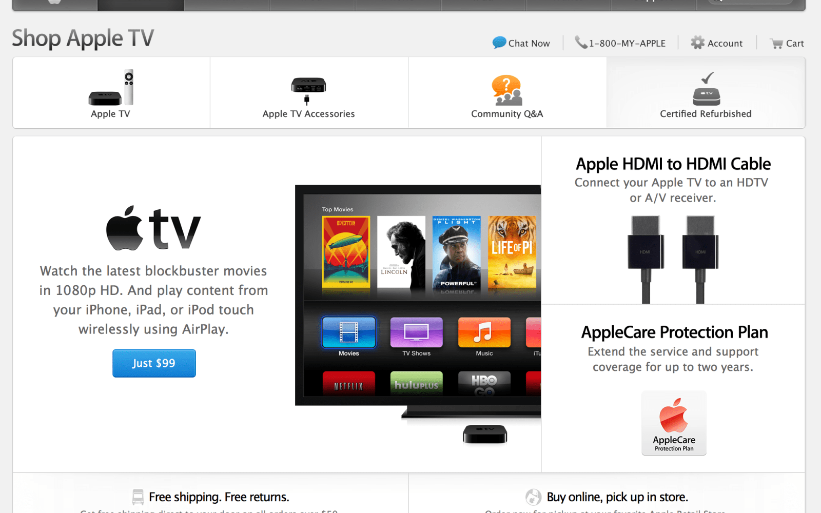 Apple TV graduates from hobby/accessory to product line