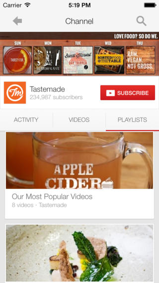 Google updates YouTube for iOS 7 with improved search results and captions