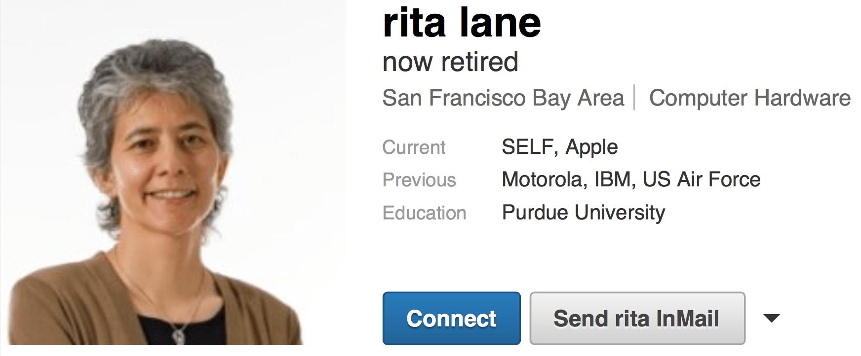 Rita retirement