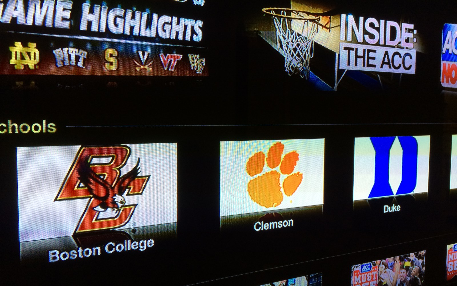 ACC Sports joins Apple TV channel lineup just in time for March Madness