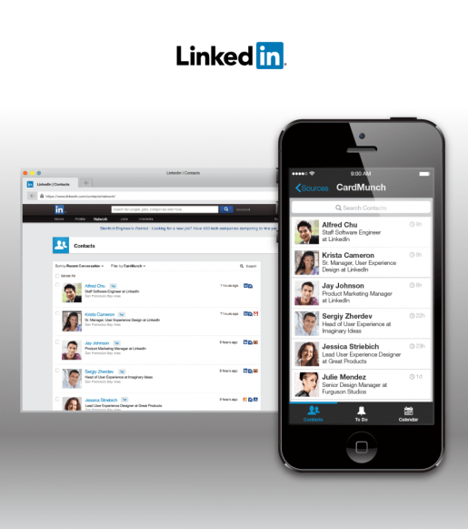 Linkedin Discontinuing Its Own Cardmunch App In Favor Of Evernotes