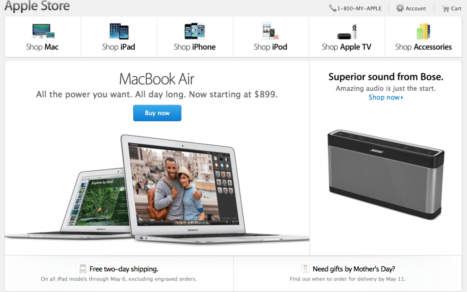 Apple passes Staples to become the #2 online retailer behind Amazon