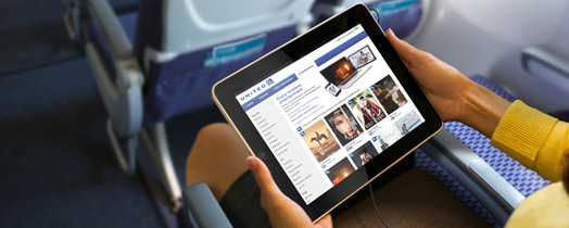 United Airlines Updates Ios App With In Flight Movie And