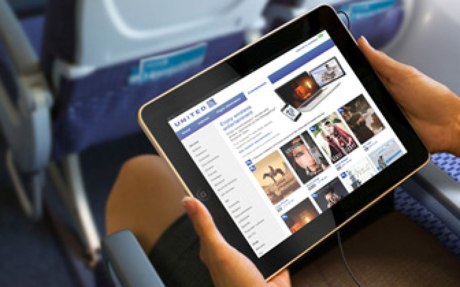 United Airlines updates iOS app with in-flight movie and TV service