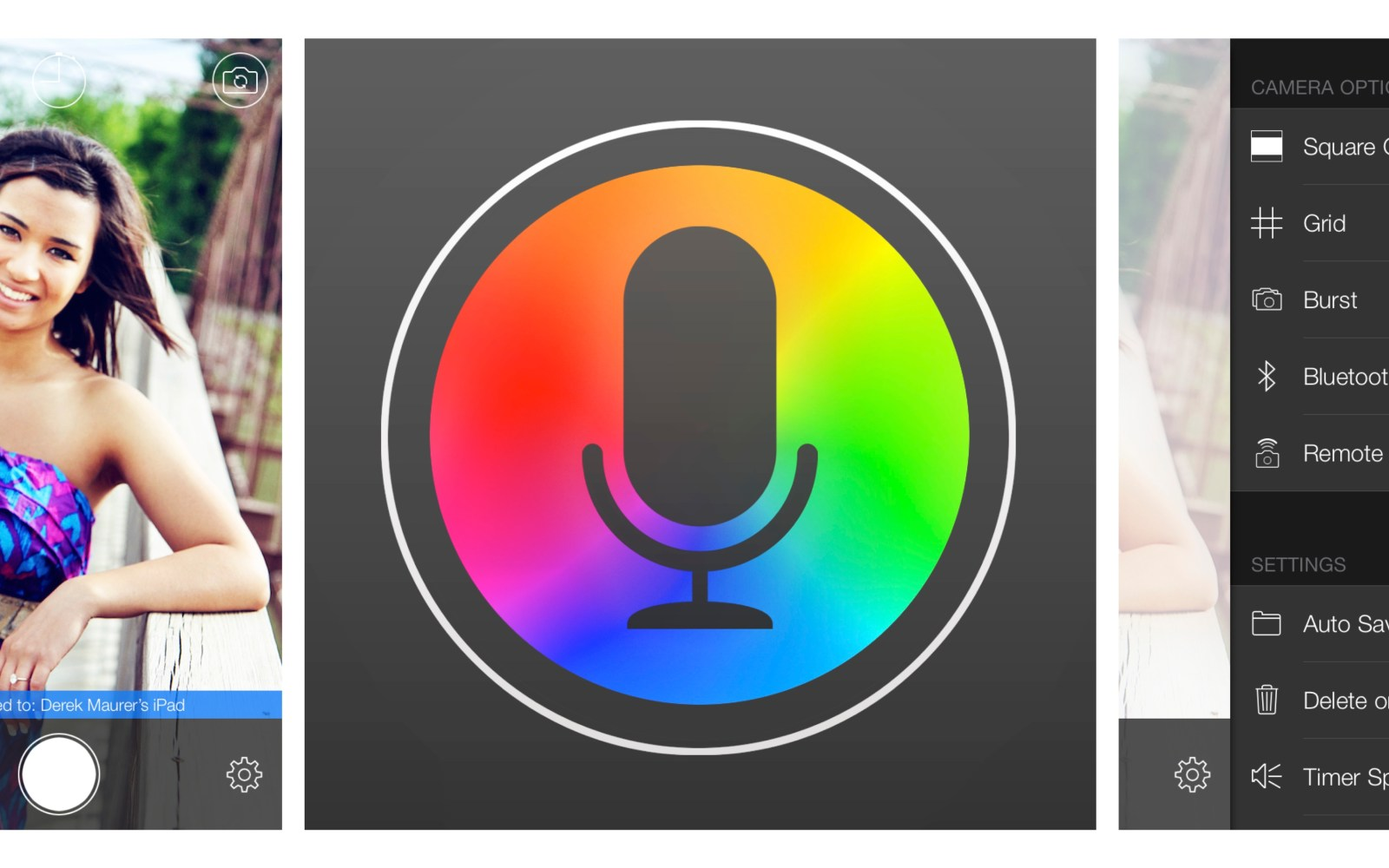 Review: VoiceSnap allows you to control your iOS camera remotely with voice commands [giveaway]