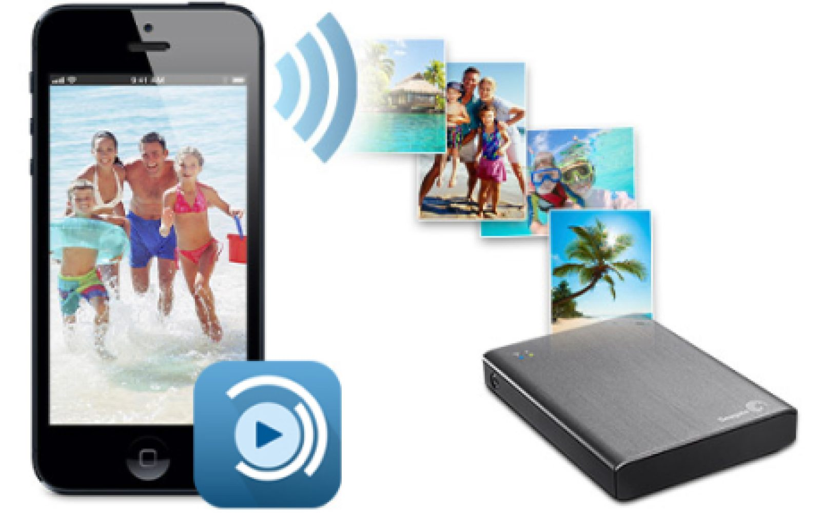 Seagate Expands Iphone Ipad Connected Wireless Plus Lineup