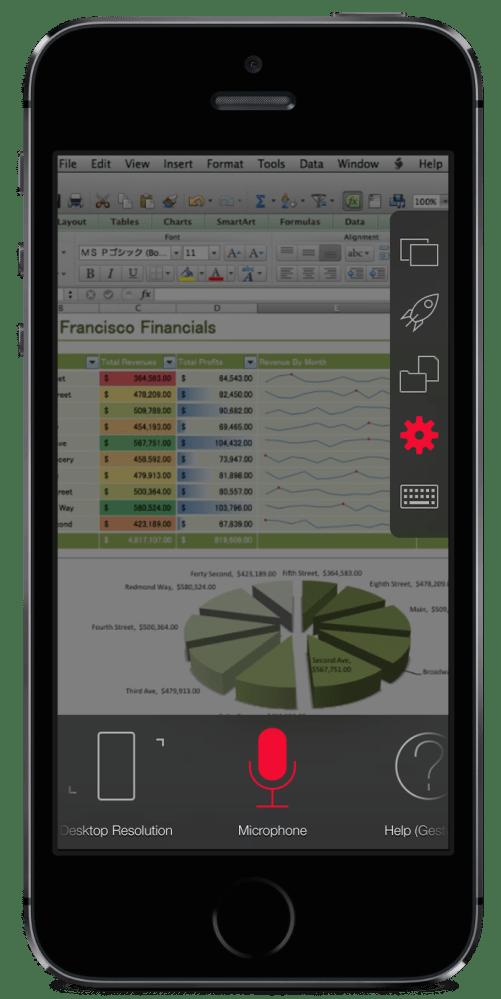 PAX2_iPhone_5s_Vert_SpaceGray_ControlStrip in Excel
