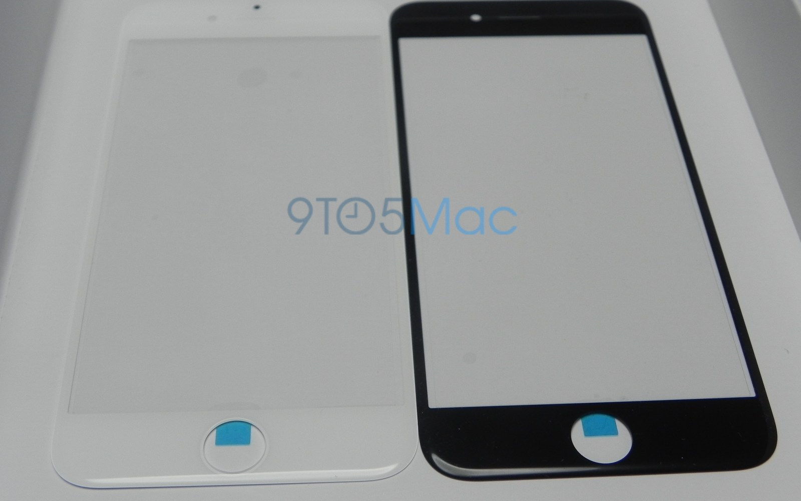 First comparison photos of black and white 4.7-inch iPhone 6 screen glass [Gallery]