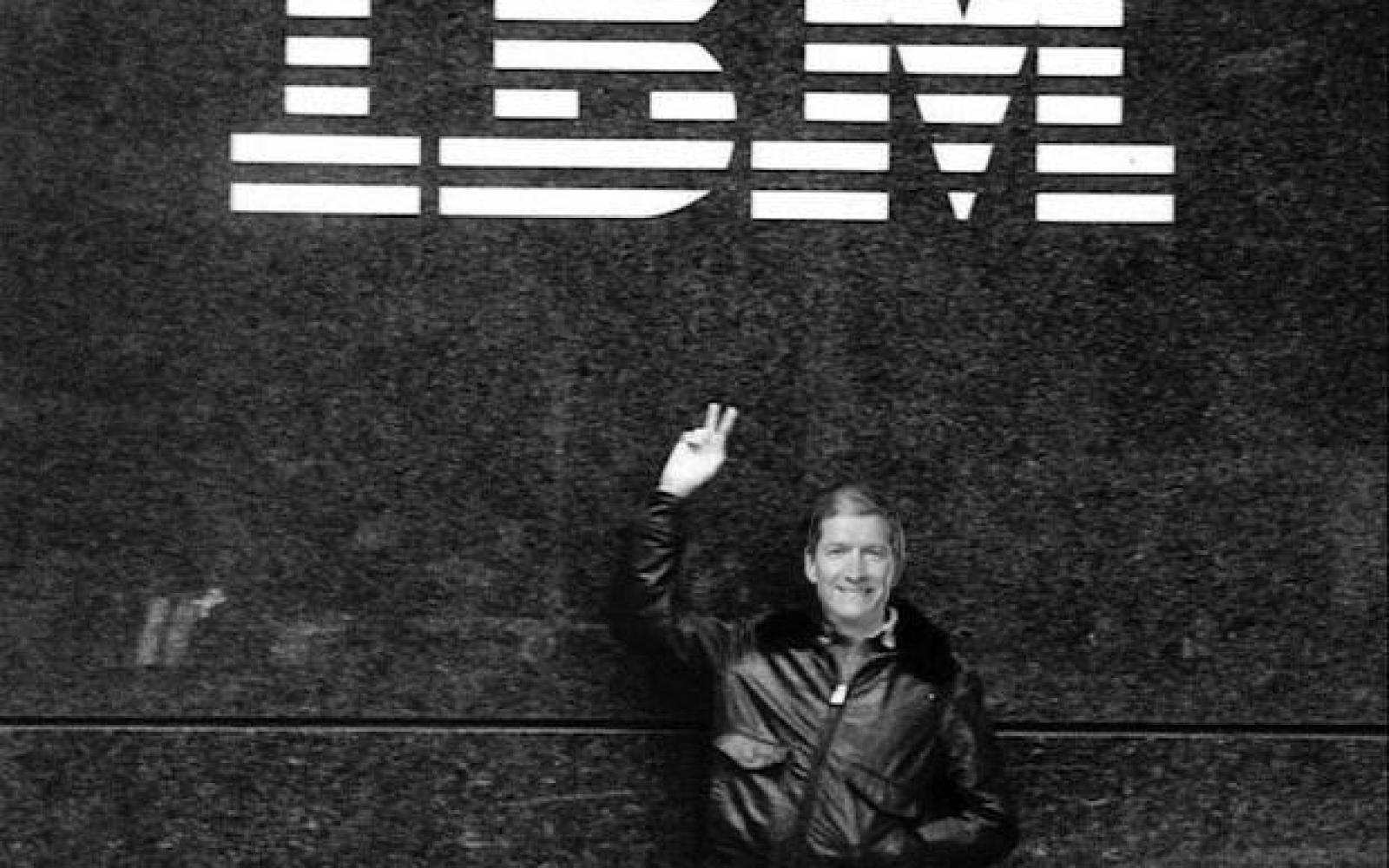 Tim Cook to employees on IBM partnership: 'I'm really excited to see it take off' (Memo)