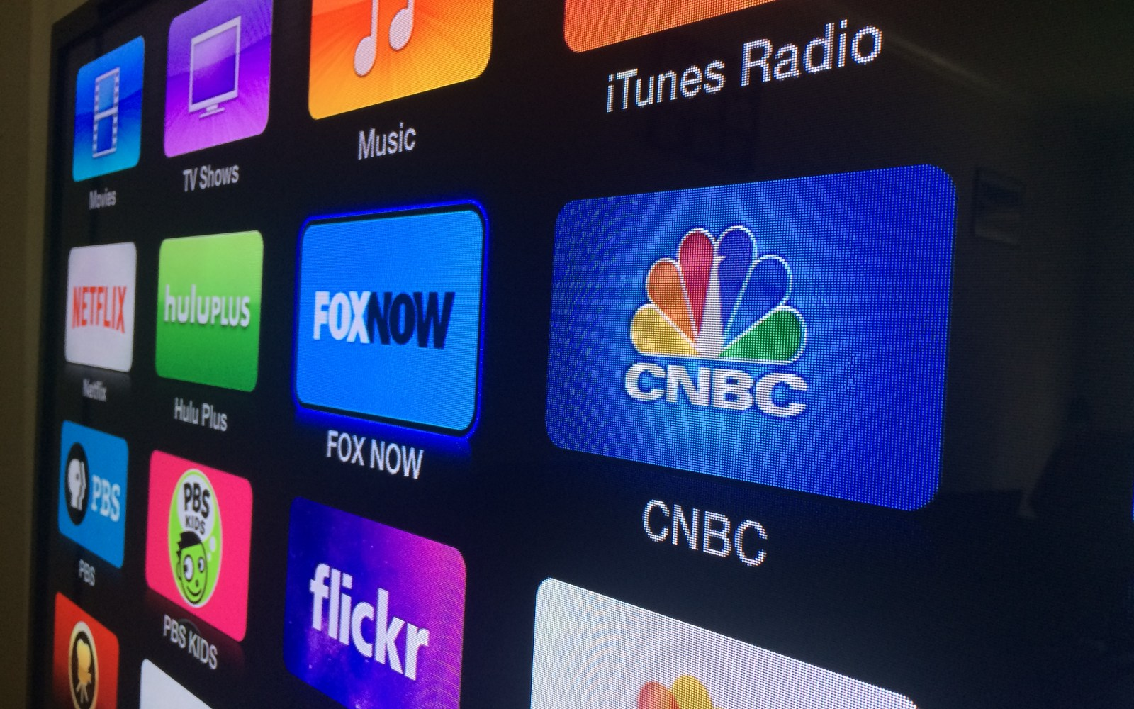 Apple TV updated with FOX NOW, CNBC channels