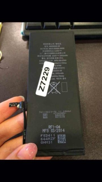 "5.5-inch ""iPhone 6L"" battery"