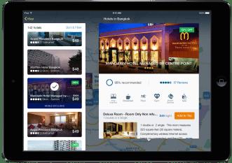 Hotel Detail-New Expedia iPad app