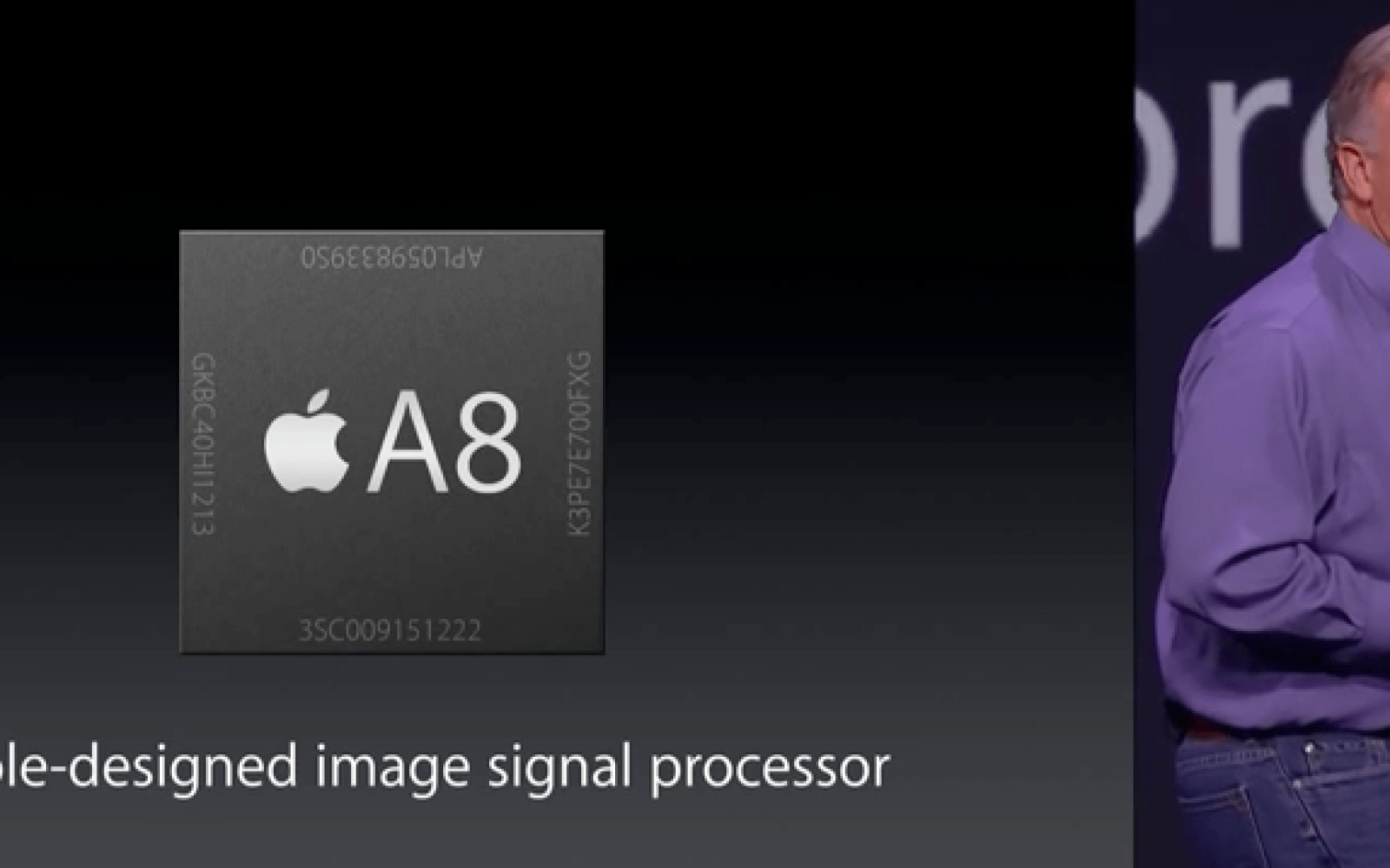 Apple's A8 processor found in the iPhone 6 and 6 Plus can reportedly handle 4K video playback