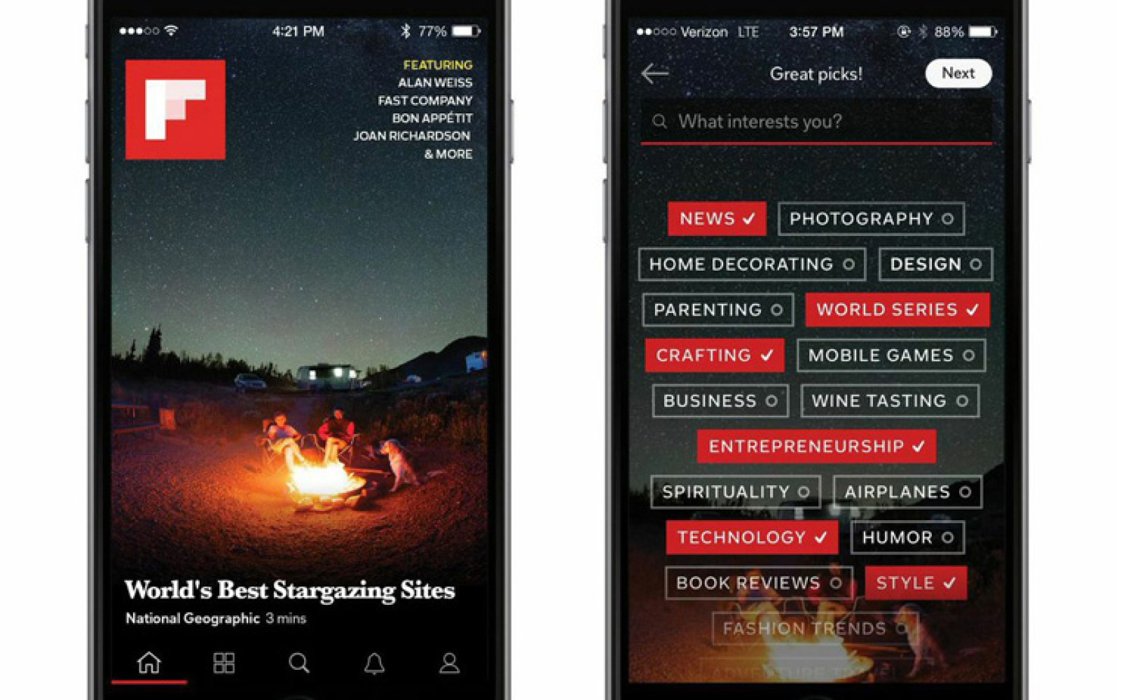 'Third-generation' Flipboard iOS app gets redesign, 30,000 topics and officially curated content