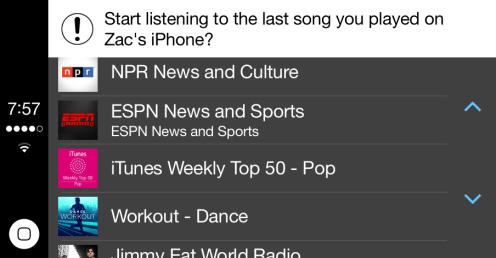 iTunes Radio bug