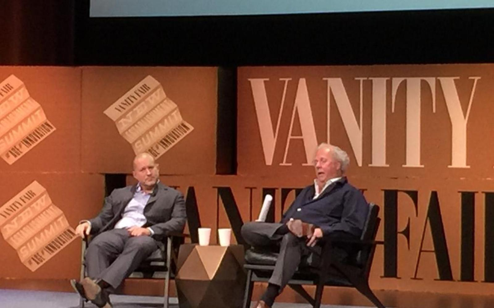 Jony Ive takes the stage at Vanity Fair's New Establishment Summit, talks design of course (Video)