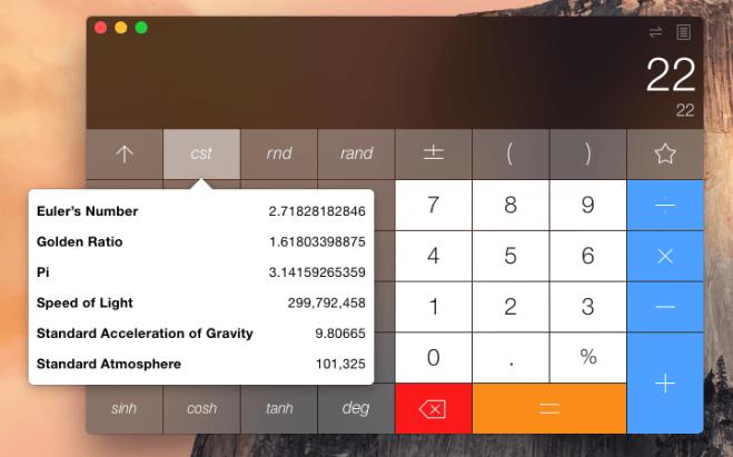 Calbot Mac constraints menu
