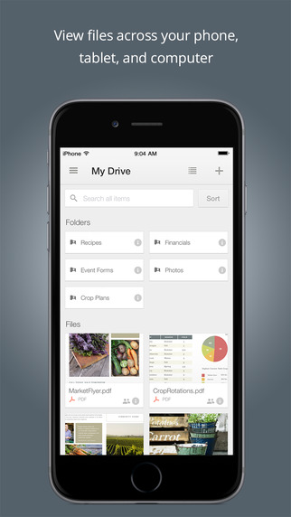 Google Drive for iOS adds Touch ID unlocking, video saving