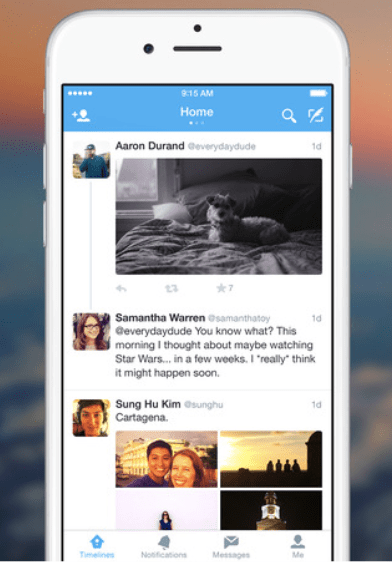 Twitter for iPhone3