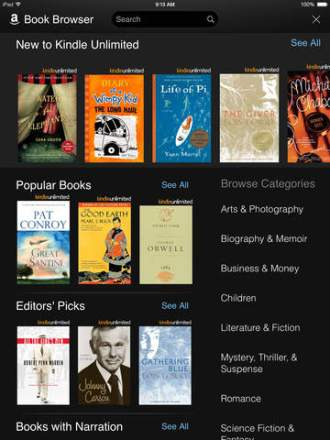 Amazon's Kindle for iOS app updated w/ Goodreads integration, Audible progressive play, more