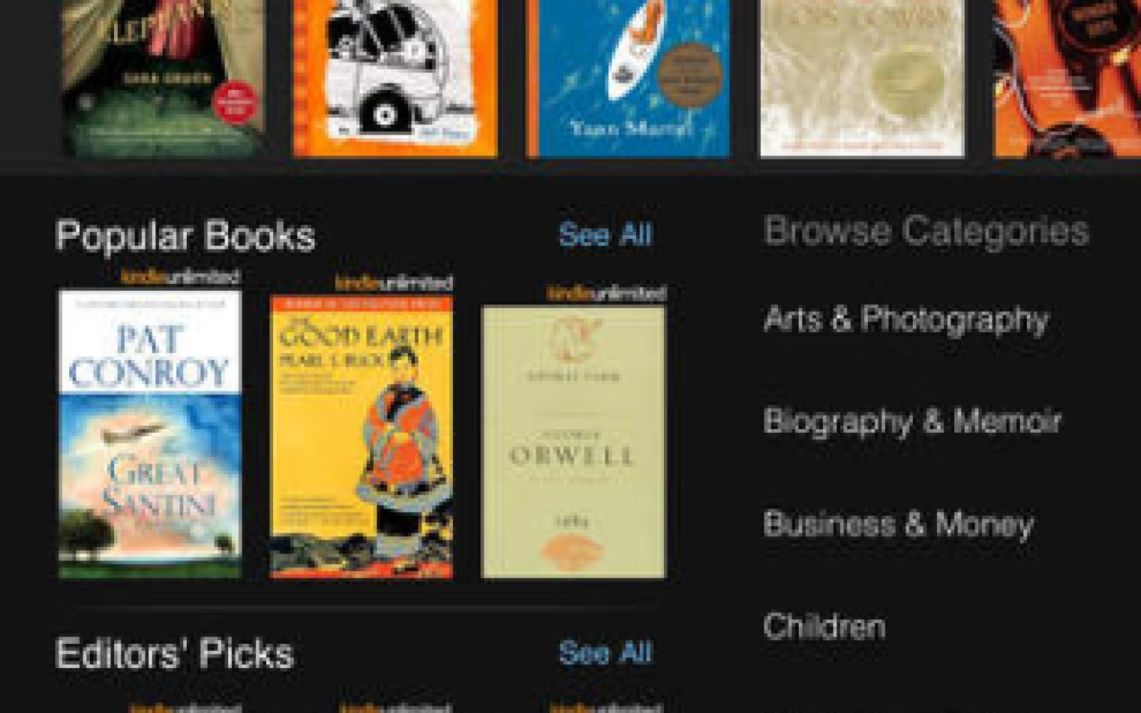 Amazon's Kindle for iOS app updated w/ Goodreads integration