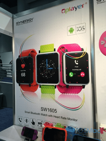 Apple Watch knockoffs for Android on show at CES 2015