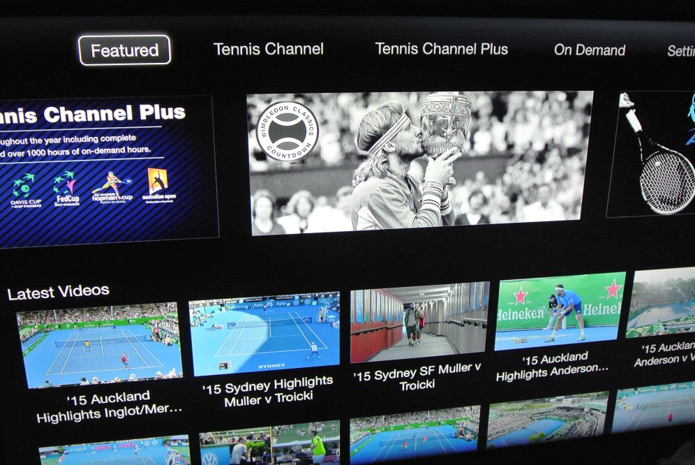 Apple TV Tennis Channel