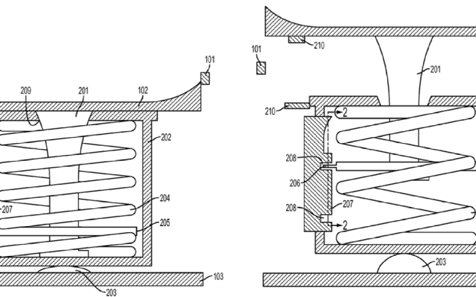 Apple patent shows spring-loaded pop-up home button that ...