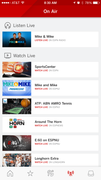 ESPN iPhone 2
